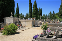 Der Friedhof in Lourmarin