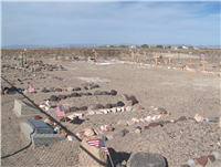 Der Friedhof im Death Valley Junction